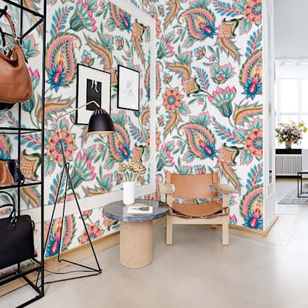 Modern Paisley:  Walls by Pixers