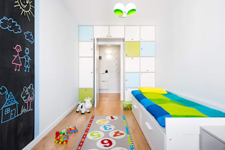scandinavian Nursery/kid's room by RedCubeDesign