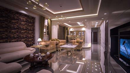 modern Walls & floors by Reda Essam