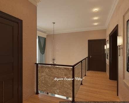 Corridor & hallway by Дизайн Студия 'Образ'