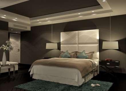 : minimalistic Bedroom by THE Studio