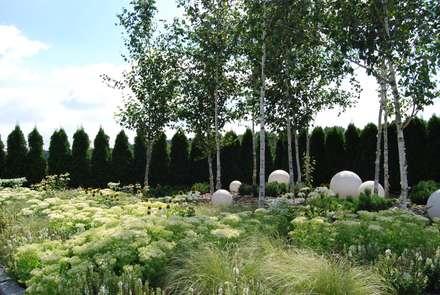 Ogród prywatny - Katowice Podlesie: styl , w kategorii Ogród zaprojektowany przez MUGO OGRODY