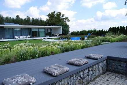 Katowice: styl , w kategorii Ogród zaprojektowany przez MUGO OGRODY