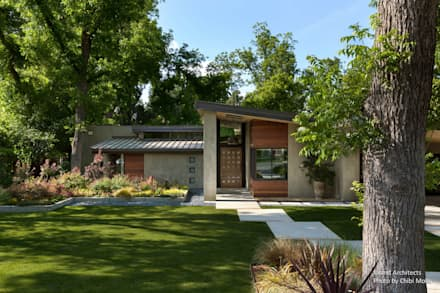 Inland Architects - The Orchard House - Exterior 4: moderner Garten von Chibi Moku