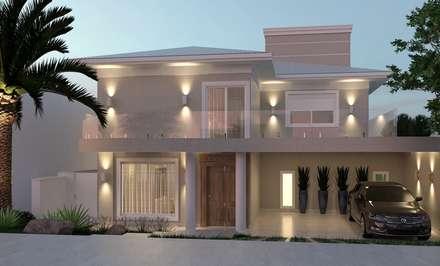 classic Houses by THEROOM ARQUITETURA E DESIGN