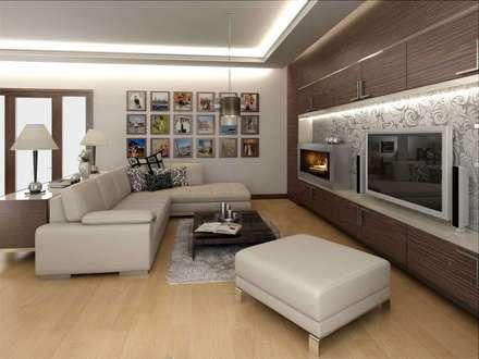 Vero Concept Archıtects – : modern tarz Oturma Odası