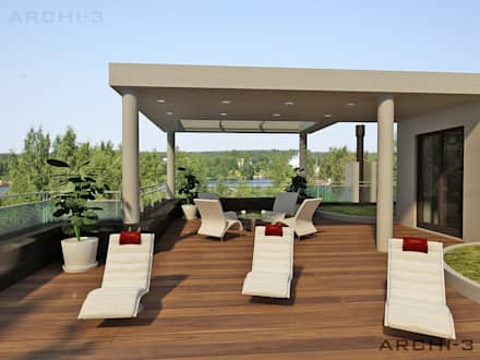 :  Terrace by ARCHI-3