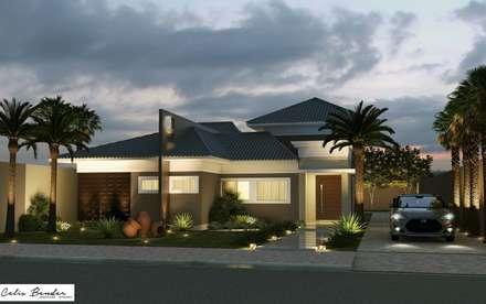 บ้านและที่อยู่อาศัย by Celis Bender Arquitetura e Interiores