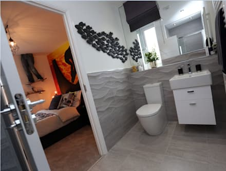 Adding those finishing touches to your home...: modern Bathroom by Graeme Fuller Design Ltd