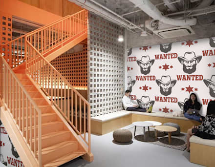 Wild West: country Study/office by Pixers
