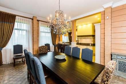 ДОМ GOOD WOOD клееный брус: Столовые комнаты в . Автор – GOOD WOOD