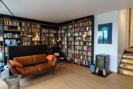 Kundenprojekt   Reihen  Eckhaus: Moderne Arbeitszimmer Von Will Bau U0026 Bad