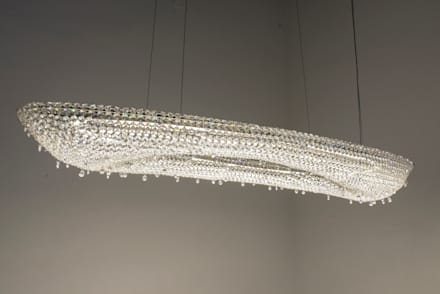Artica crystal chandelier: modern Yachts & jets by Manooi