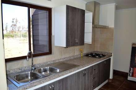 مطبخ تنفيذ Casas Metal