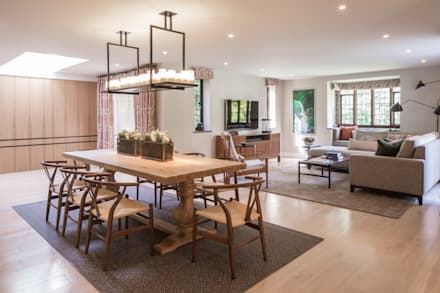 Richmond - Informal Dining Room: eclectic Dining room by Roselind Wilson Design