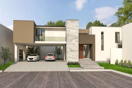 منازل تنفيذ Indigo Arquitectos