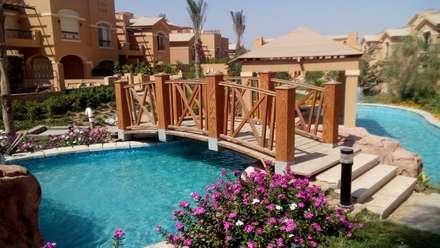 ديار بارك - القاهرة الجديدة:  منتجع تنفيذ Alnada Landscaping