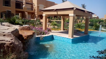 ديار بارك - القاهرة الجديدة:  حديقة تنفيذ Alnada Landscaping