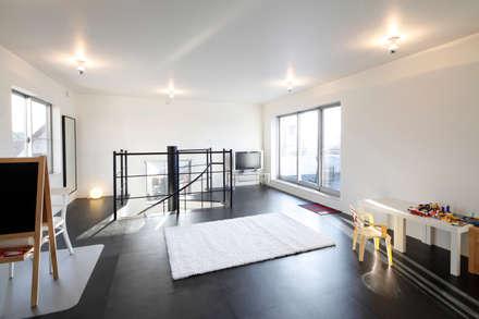 フリースペース: 久保田正一建築研究所が手掛けた子供部屋です。