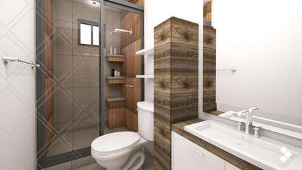Proyecto CG: Baños de estilo  por CDR CONSTRUCTORA