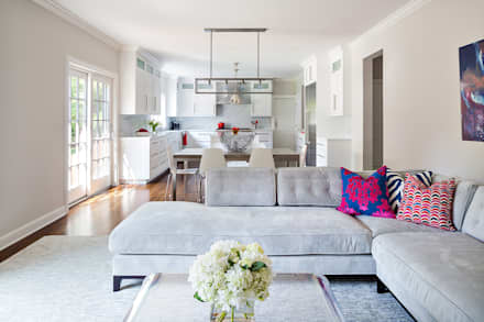 Family Room: modern Living room by Clean Design