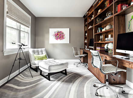 modern Study/office by Clean Design
