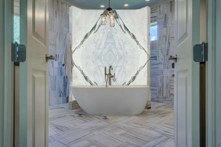 : mediterranean Bathroom by Elalux Tile