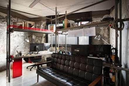"""""""스타시스"""" 사무실: STARSIS의  서재 & 사무실"""