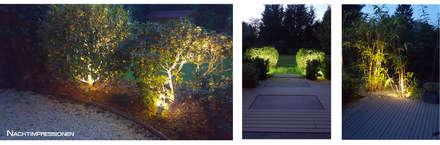 Terrasse Eitelstraße - Two in a Row: moderner Garten von SUD[D]EN Gärten und Landschaften