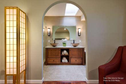 Yoko Oda Interior Design - Zen Bathroom - Interior 1: asiatische Badezimmer von Chibi Moku