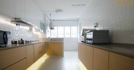 Potong Pasir Renovation: minimalistic Kitchen by Designer House