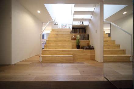 サルトリイバラハウス: FORMA建築研究室が手掛けた玄関/廊下/階段です。