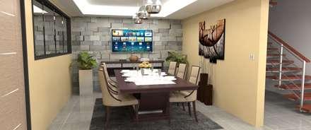 Area de Comedor: Comedores de estilo moderno por Atahualpa 3D