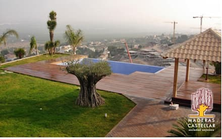 泳池 by Maderas Castellar