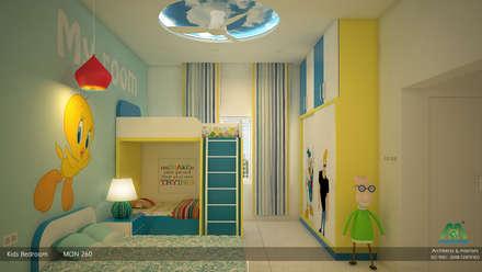 Victorian + Modern Contemporary: modern Bedroom by Premdas Krishna