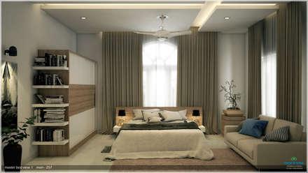 Interiors with Ultra Modern Designs: modern Bedroom by Premdas Krishna