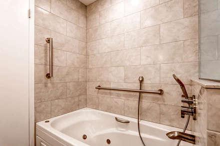 Condo on Washington Park : classic Bathroom by Studio Design LLC