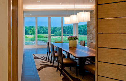Catch & Release: modern Dining room by Cunningham | Quill Architects
