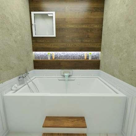 vAvien İç Mimarlık – Country house : modern tarz Banyo