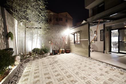 Terrazas de estilo  por 戎馬整合設計
