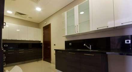 تشطيب شقة 6 اكتوبر:  مطبخ تنفيذ YAS interior designs