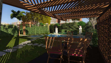 حديقة تنفيذ Ain Designs Studio