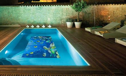mediterranean Pool by Fotoceramic