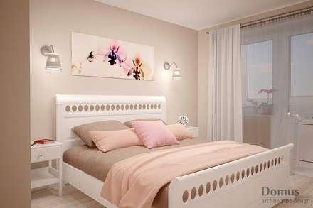 Тепло и нежность прованса: Спальни в . Автор – Белый Эскиз