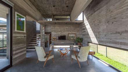 Casa Berazategui: Livings de estilo moderno por Besonías Almeida arquitectos