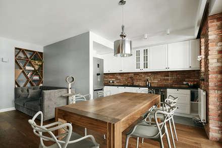 : modern Kitchen by BLACKHAUS