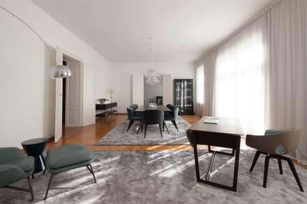 apartment m moderne esszimmer von destilat design studio gmbh - Esszimmer Ideen