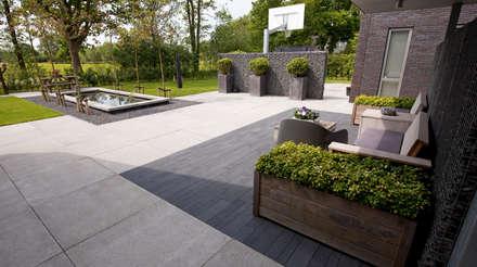 Moderne tuin idee n en inspiratie homify - Moderne landschapsarchitectuur ...