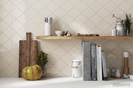 Bodegas de estilo mediterráneo por Equipe Ceramicas