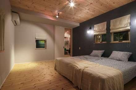HOUSE-04(renovation): dwarfが手掛けた寝室です。